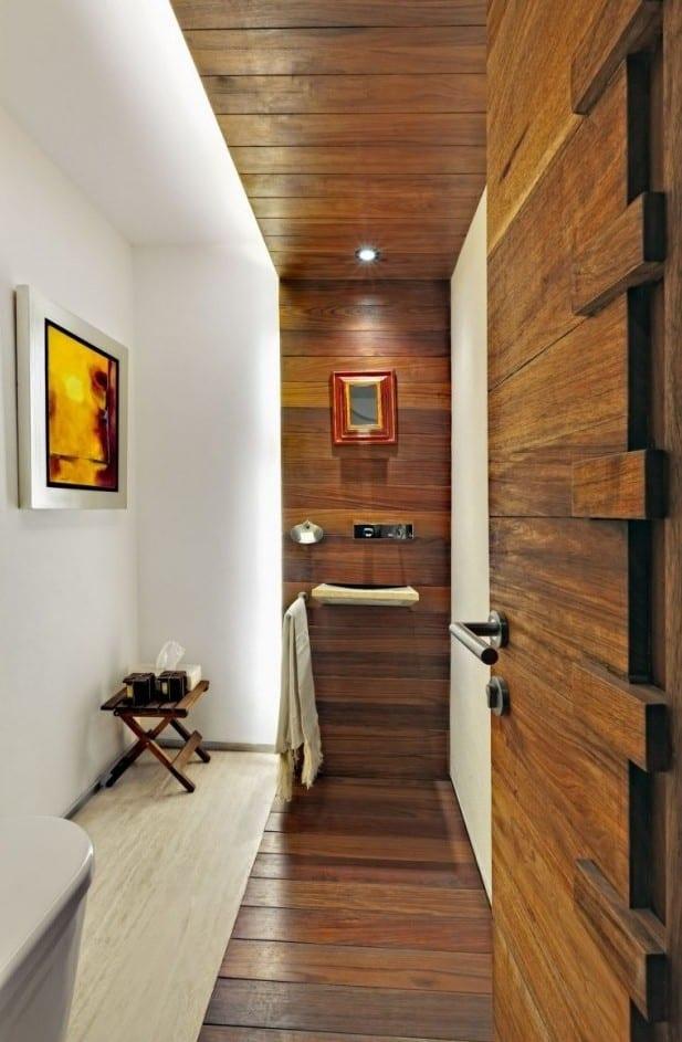 kleines bad modern gestalten mit licht_kreative badideen und lsungen fr kleine bder  fresHouse