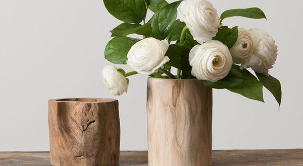 Rustikale Note dem Interieur verleihen mit einer DIY Vase