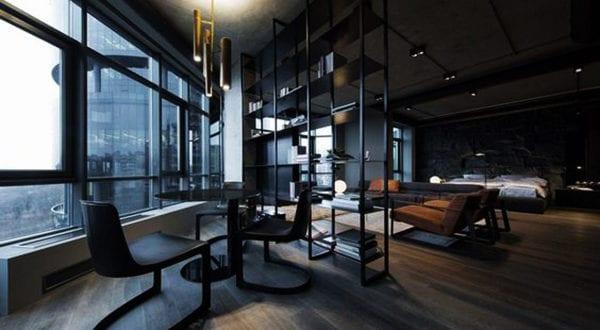 Kluge RaumteilerEinrichtungsideen fr Studio Apartments