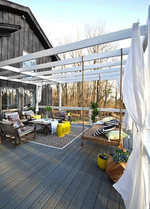 Fantastische DIY Schaukel Ideen fr einen echten Traumbereich im Sommer  fresHouse
