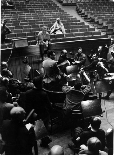 Herbert von Karajan in Salzburg