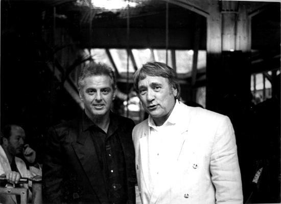 Friedrich Witt und Daniel Barenboim in Paris 1989