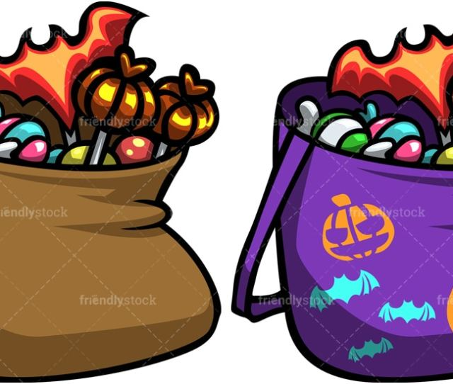 Halloween Candy Bags Png Jpg And Vector Eps File Formats Infinitely Scalable
