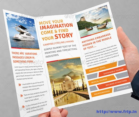 30 Best Travel Agency Trifold Brochure Print Templates