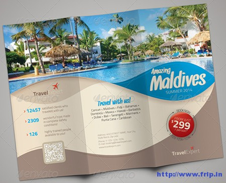 trifold travel brochure ideal vistalist co brochure design