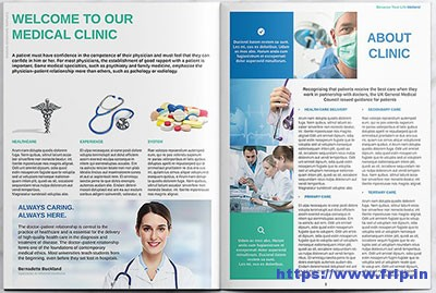 Medical Clinic Brochure Ideal Vistalist Co