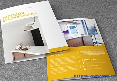 50 Best Interior Design Brochure Templates 2017 Frip In