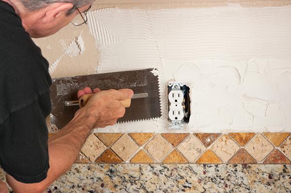 simple steps for tiling your backsplash