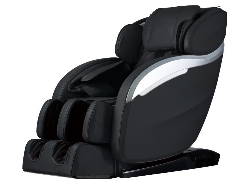 massage chair with heat fishing bedchair and sleeping bag electric full body long rail shiatsu recliner zero details about gravity w