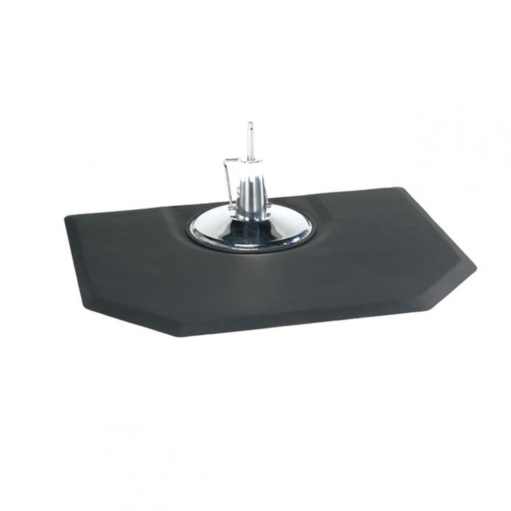 Black 5x4 78 Thick Barber Salon Anti Fatigue Floor Mat