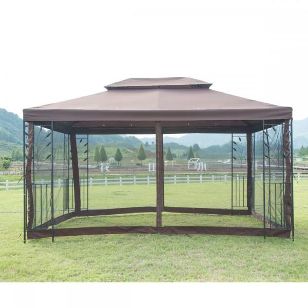 Outdoor Steel Frame Canopy