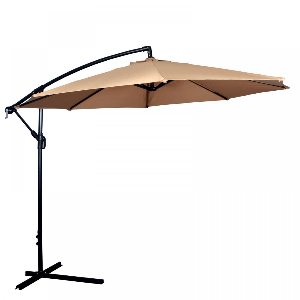 New Patio Umbrella Offset 10' Hanging Umbrella Outdoor