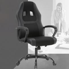 Ergonomic Computer Chair How Much Weight Can A Gaming Hold Racing Office Desk W Lumbar Support