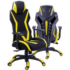 Chair Back Support Colorful Desk Chairs Ergonomic Gaming Office With Details About Adjustable Armrest