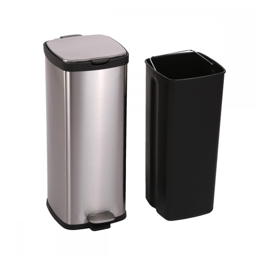 30 gallon kitchen trash can long island bestoffice 8 gallon/ 30l step stainless-steel ...