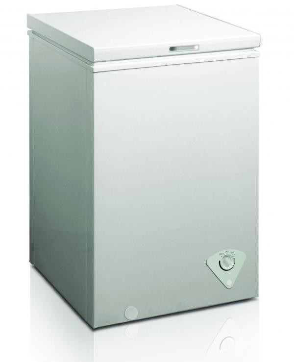 Midea Whs-129c Single Door Chest Freezer 3.5 Cubic Feet White