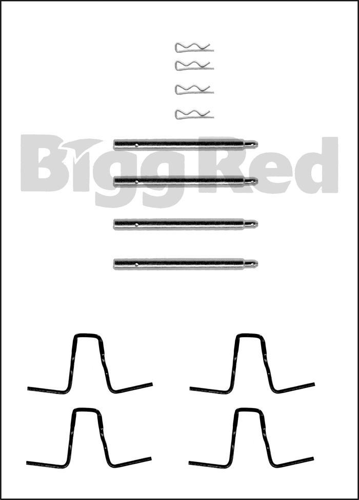 Mercedes W114, W115, SL Class 71-89, W123 Rear Brake