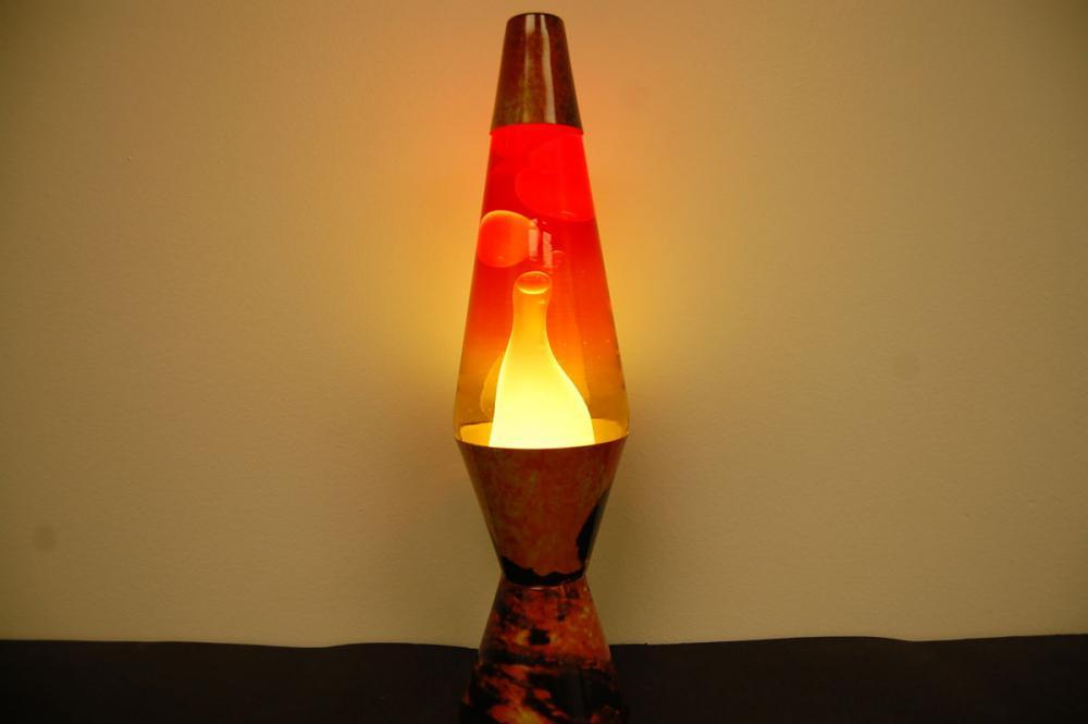 20oz Color Max Volcano Lava Brand Motion Lamp Clear Liquid