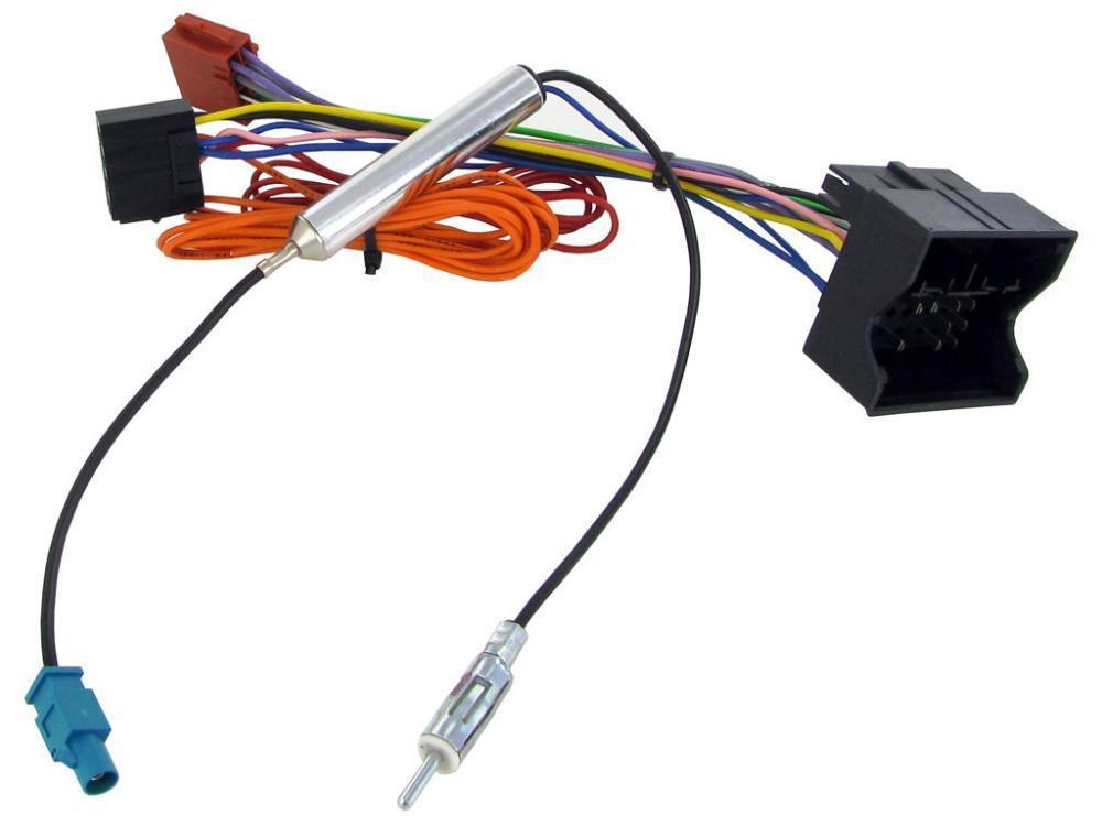 opel vectra b radio wiring diagram harley davidson tail light vauxhall meriva 2005 2015 car stereo iso harness details about aerial adaptor