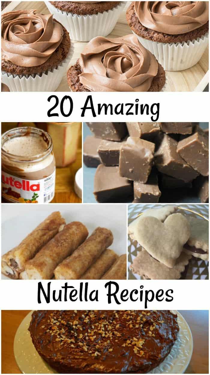 20 Amazing Nutella Recipies #worldNutelladay
