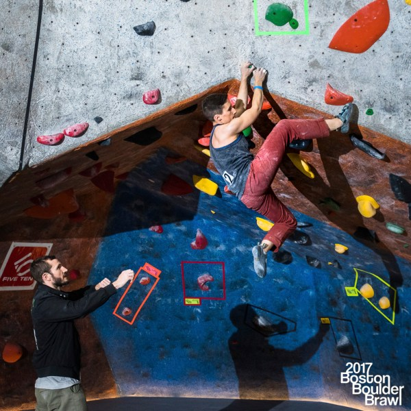 Indoor Rock Climbing Boulder Competition Fstoppers