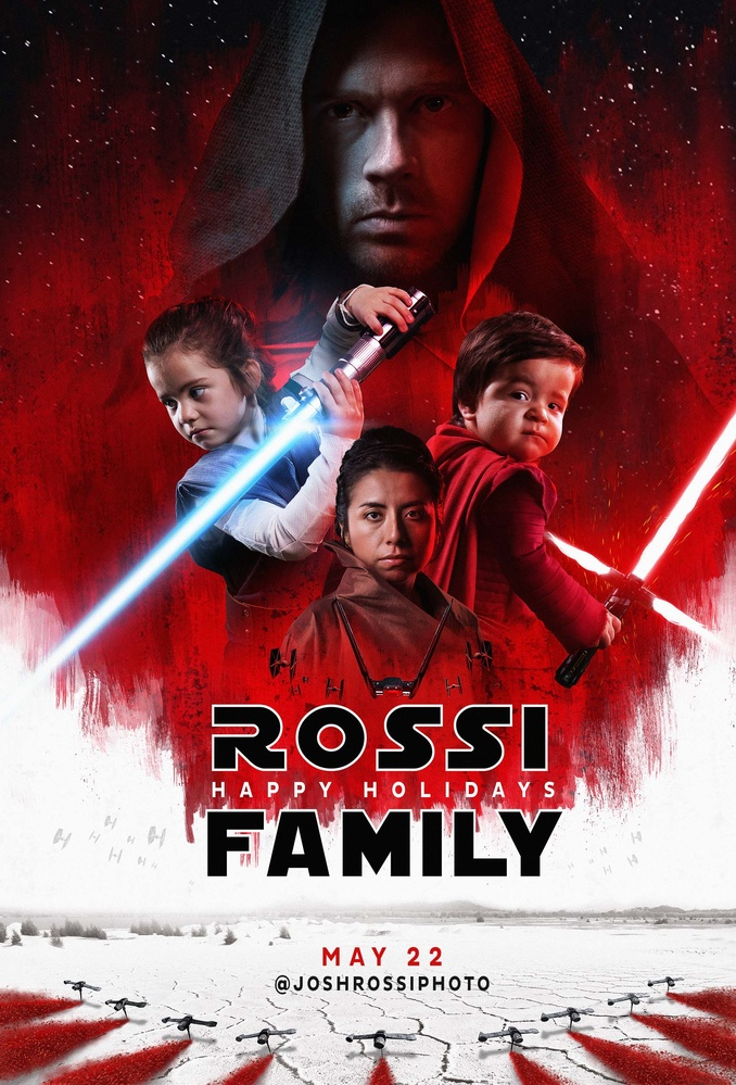 Photographer Photoshops Family Into Star Wars Cast For