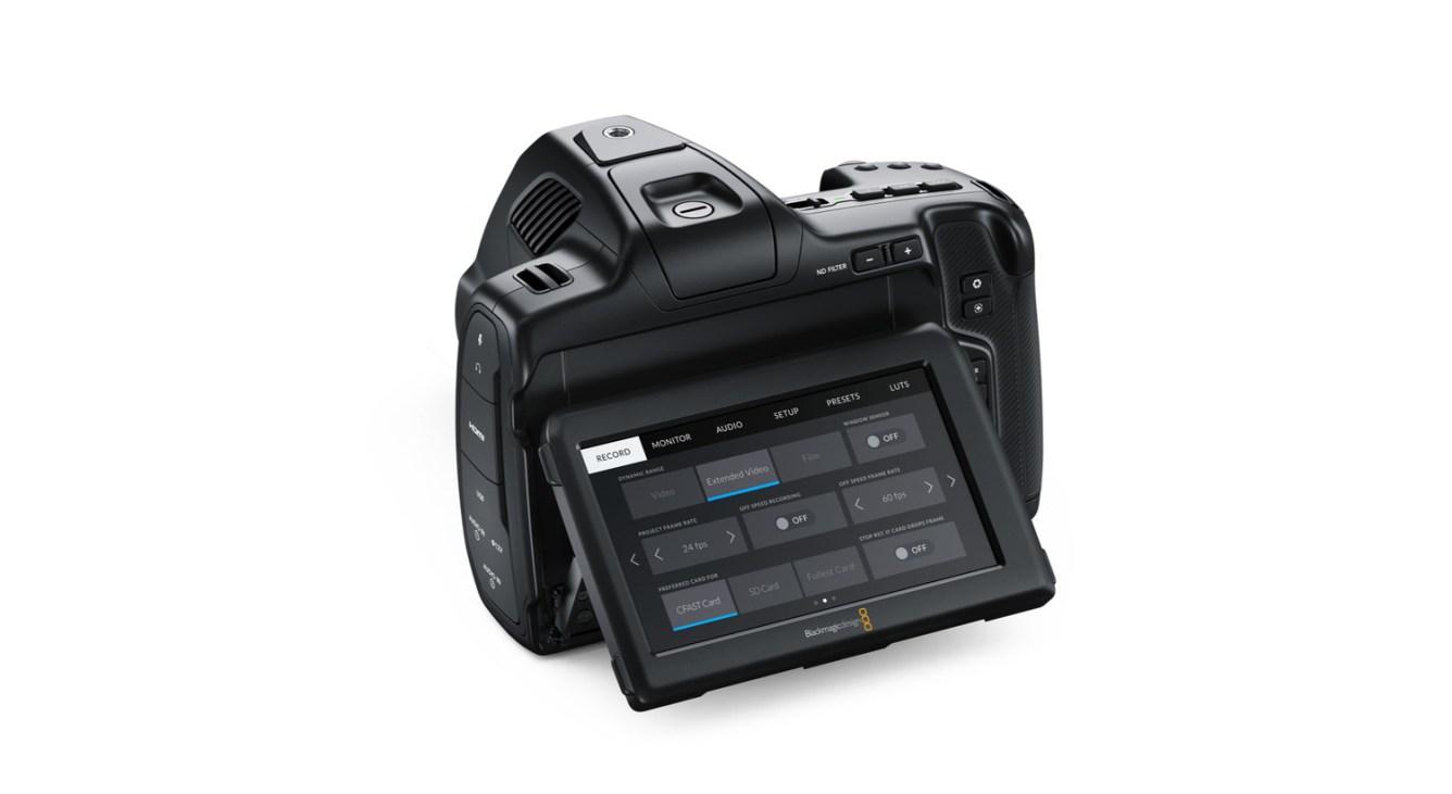 New Blackmagic Pocket Cinema Camera 6K Pro