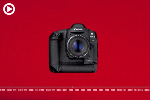 Watch 30 Years of Canon Cameras Evolving Before Your Eyes