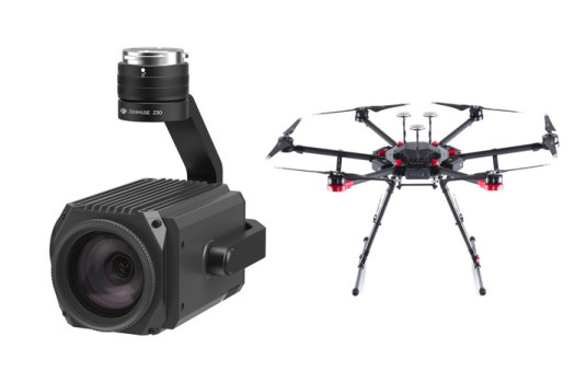 Check Out This Footage From the Zenmuse Z30 30x Zoom Drone Camera
