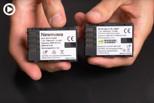 Using Third-Party Batteries Can Corrupt Your Video Files