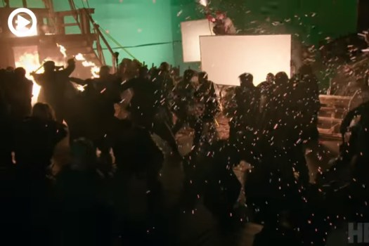 Behind the Scenes of the 'Game of Thrones' Ship Battle [Spoilers]