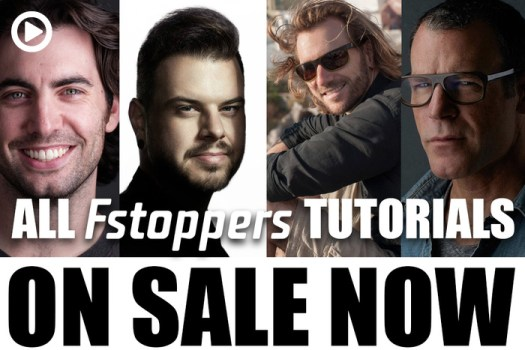 Black Friday Sale on All Fstoppers Photography Tutorials