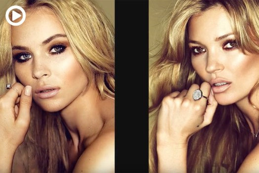 A Tutorial on Retouching a Portrait of Kate Moss