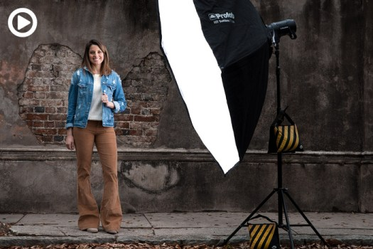 How to Get the Softest Light Outdoors for Your Photos