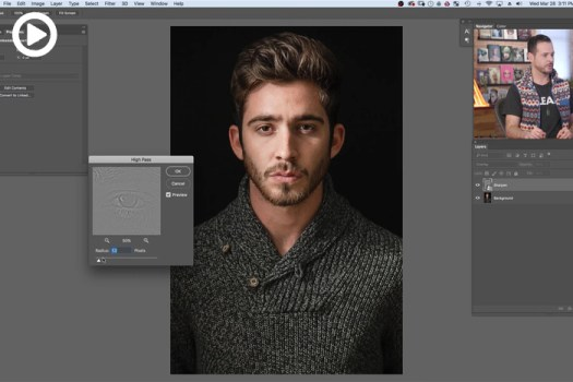 How to Get Tack Sharp Portraits in Photoshop