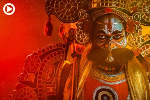 Making Artist Portraits of Therukoothu: A 2,000-Year-Old Indian Folk Art Dance