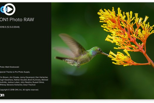 ON1 Photo RAW 2018.5 Update Now Available
