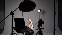 Four Light Setup Using Only Grids for Studio Portrait ...