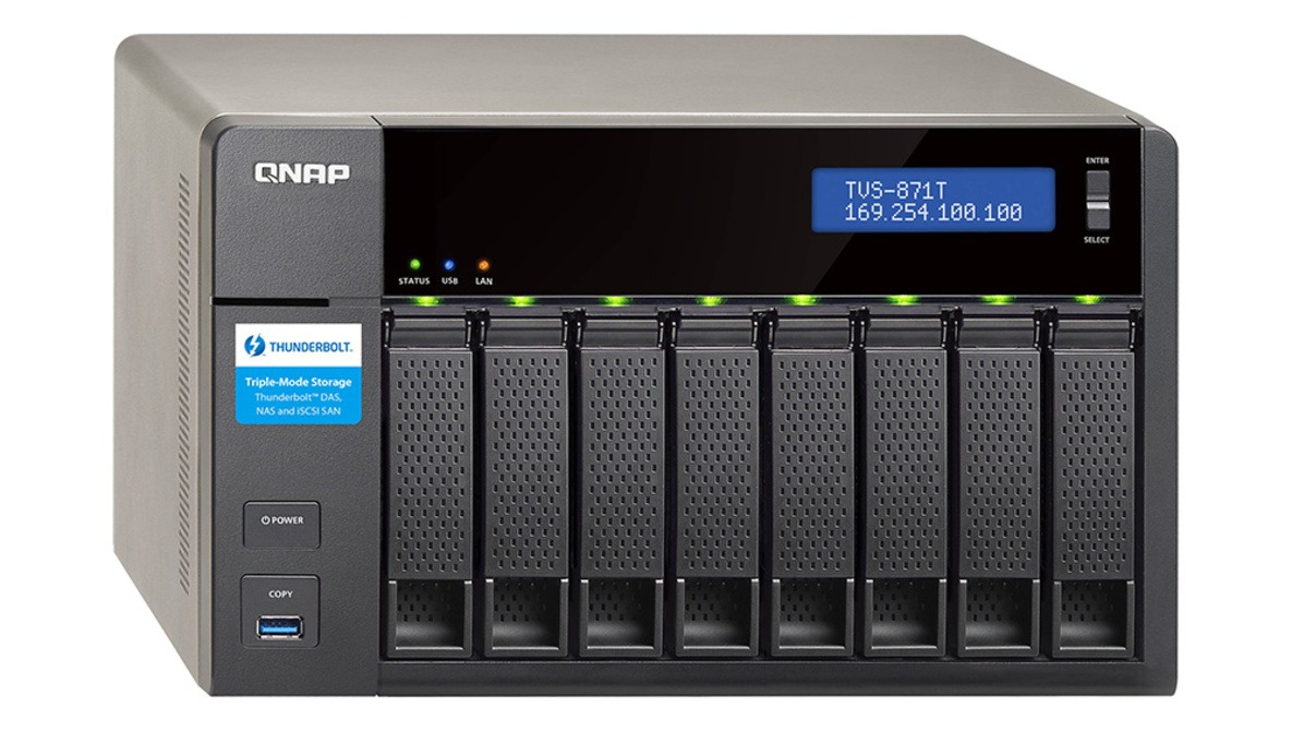 hight resolution of qnap s tvs 871t solves all of your home and on the go data storage needs
