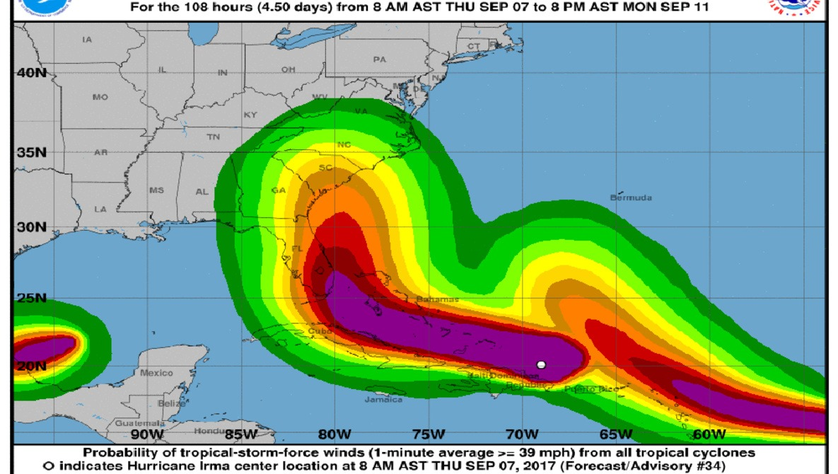 hight resolution of hurricane irma don t become a liability