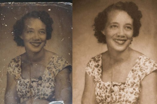 Students Help Digitally Restore Photos for Hurricane Harvey Victims