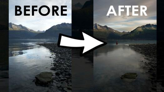 How I Blended Multiple Landscape Photos in Alaska
