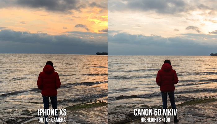 The latest iPhones More Than Compete With the Dynamic Range of a Full Frame Camera