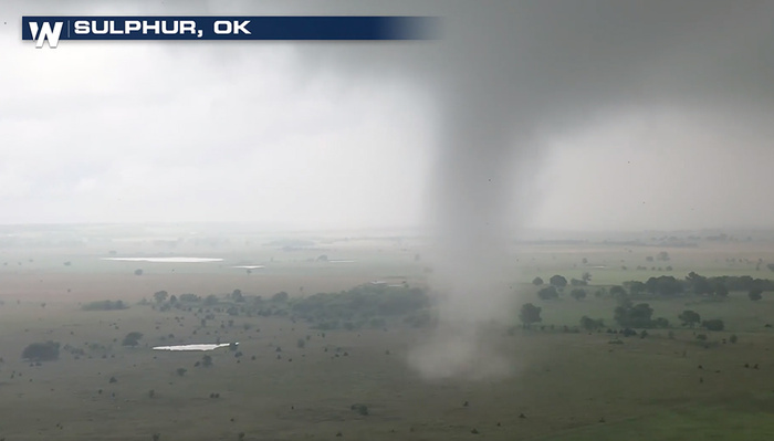 Storm Chaser Captures Stunning Footage of Tornado With Drone