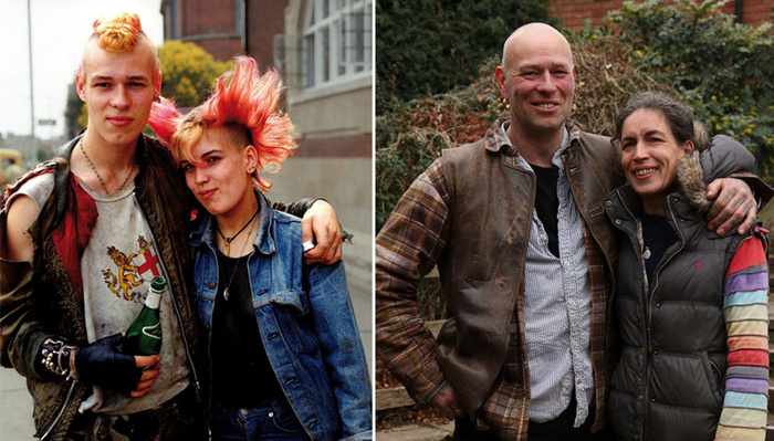 Photographer Reunites Subjects He Shot 30 Years Ago for 'Then and Now' Photo Series