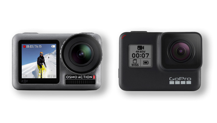 DJI Osmo Action Versus GoPro HERO7 Black: Which Should You Buy?