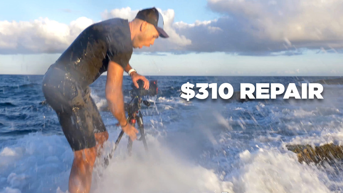 How Much It Cost To Fix My Flooded Nikon D850 Camera