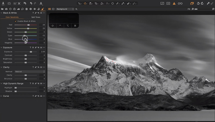 Become a Black and White Editing Master With These Techniques in Capture One