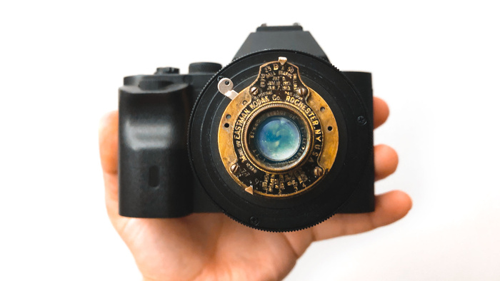 Photographer Uses Vintage Lens From a 100-Year-Old World War Camera to Shoot Video on His Sony