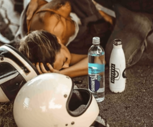 Influencer Tries to Justify Posting Professional Images of Her Motorcycle Accident, Which Include Suspected Product Placement